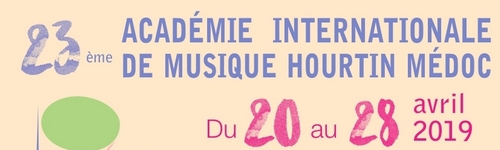 Académie Internationale de Musique Hourtin avril 2019
